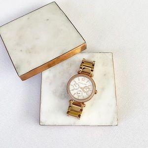 Michael Kors | Parker Rose Gold-Tone Watch